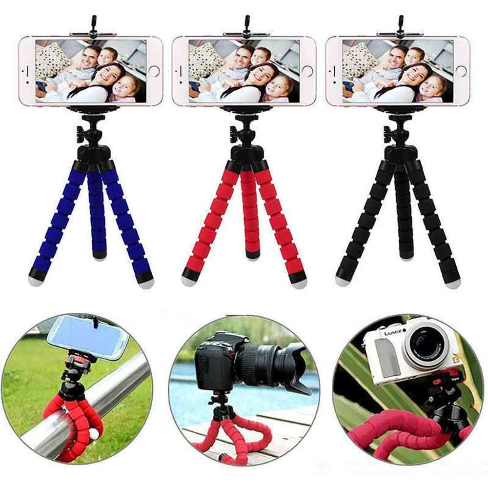 Hand-grip Accessories And Flexible Mono/tripod For Sport Action Camera
