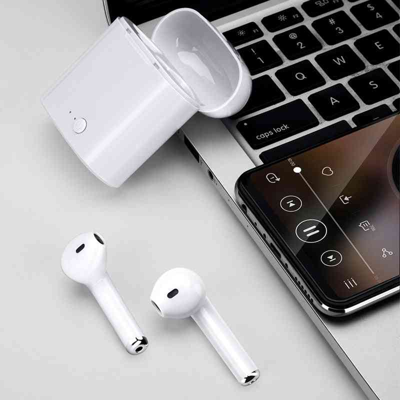 Tws I7s Bluetooth Earphone / Headphones With Charging Box