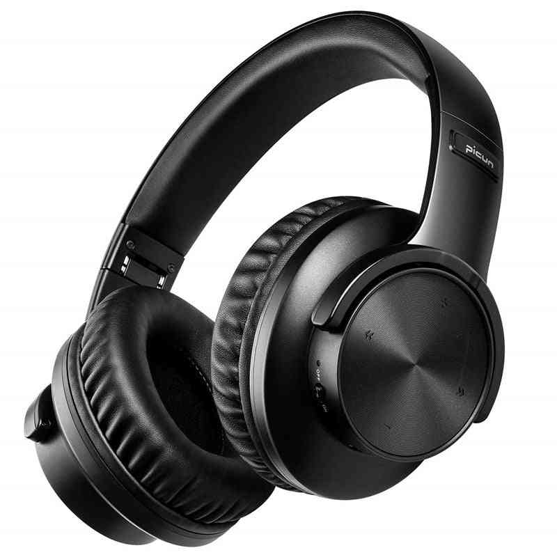 B8 Bluetooth 5.0 Headphones, 40h Play Time, Touch Control Wireless Headphone With Mic Over Ear Earphone Tf Headset For Phone, Pc