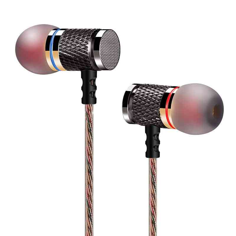Metal Heavy Bass Sound Quality For Music - Earphone Headset