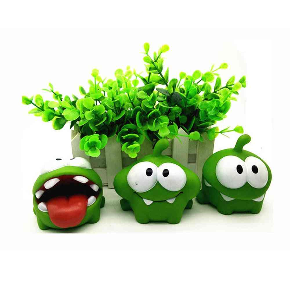 Mung Bean Frog Cut Rope Cartoon Doll Pinch Home Decoration Plastic Toy
