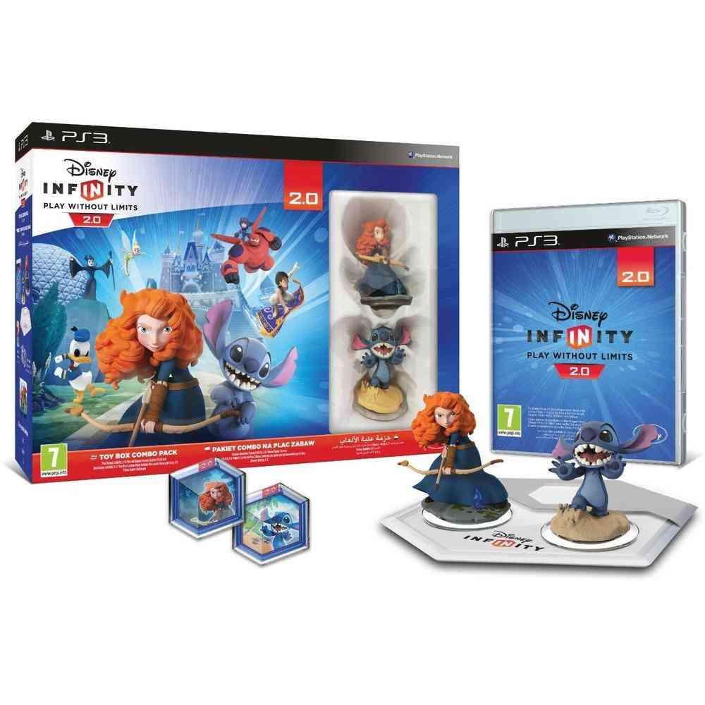 Ps3 Disney Infinity 2.0 Originals Starter Pack