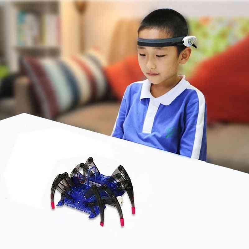 Mindlink Rc Spider Robot Headband Kit Brainlink Novelty High Tech Toy