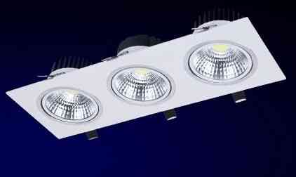 Grille Lamps - 3*7w Ac85-265v Led Spot Light