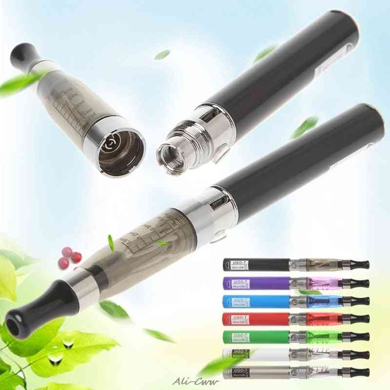 650mah Battery, Side Usb Charger For Electronic Cigarette Atomizer