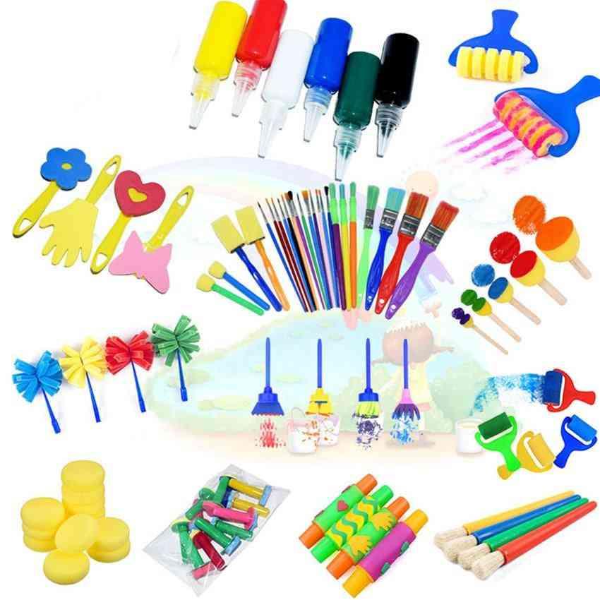 Sponge Paint Brush Seal Painting - Educational Toy