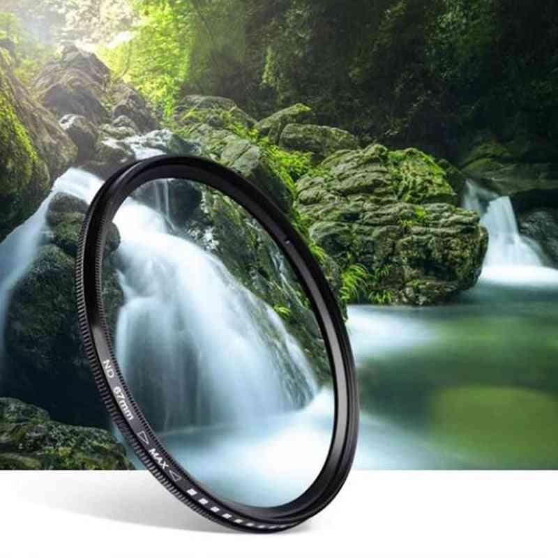 Slim Fader Variable Nd Lens Filter - Adjustable Nd2 To Nd400 Neutral Density