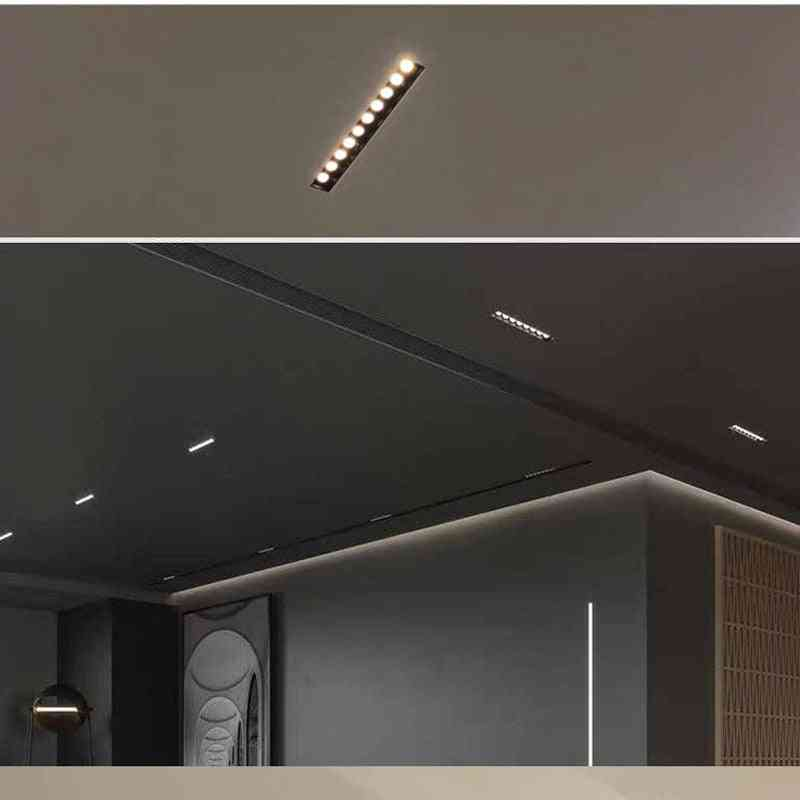 Built-in Adjustable Angle Line - Linear Polarized Wall Light