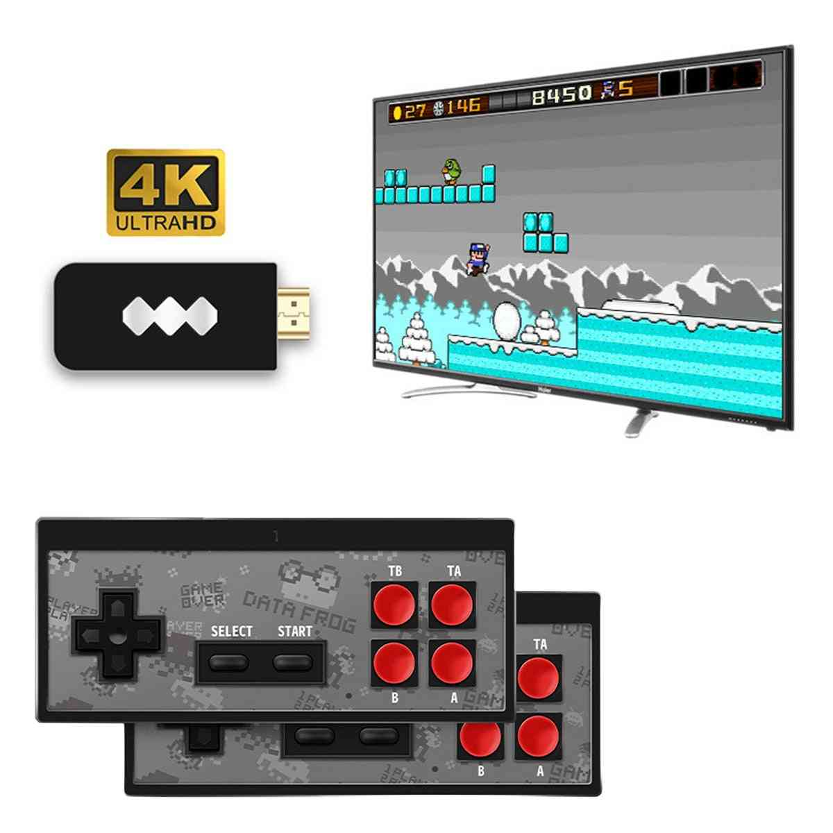 Data Usb Wireless Handheld Tv Video Game Console Support