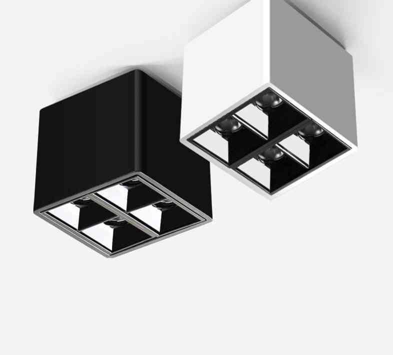 Modern Style White, Black Led For Ceiling, 8w Led