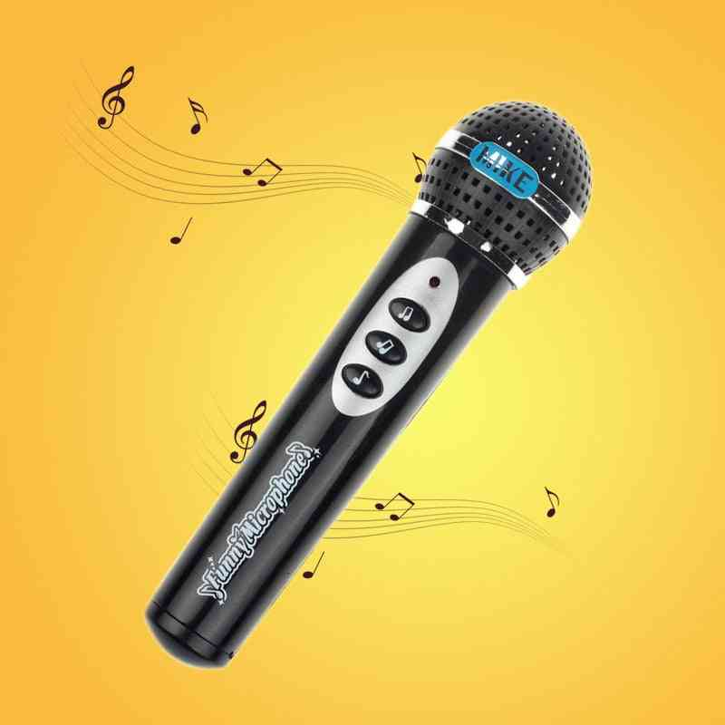 Toys And Hobbies Microphone Mic Karaoke Singing Kid, Music Toy Christmas (black)
