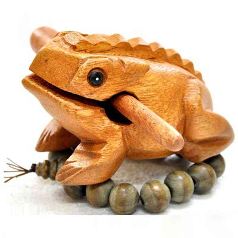 Lucky Money Frog Style, Traditional Wooden Musical Instrument Percussion Rasp