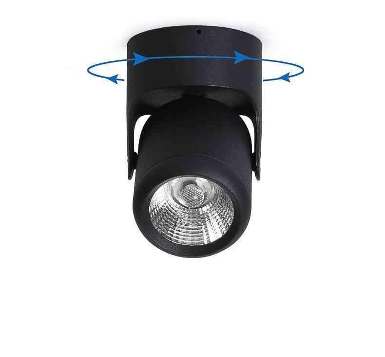 Led Adjustable, Surface Mounted Spotlight Lighting For Living Room