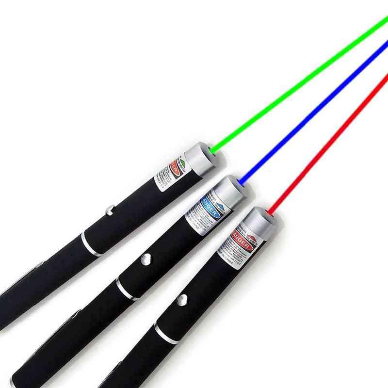 Laser Sight Pointer 5mw High Power Dot Laser Light Pen For Powerful Laser Meter, 405nm, 530nm, 650nm Lazer Pen
