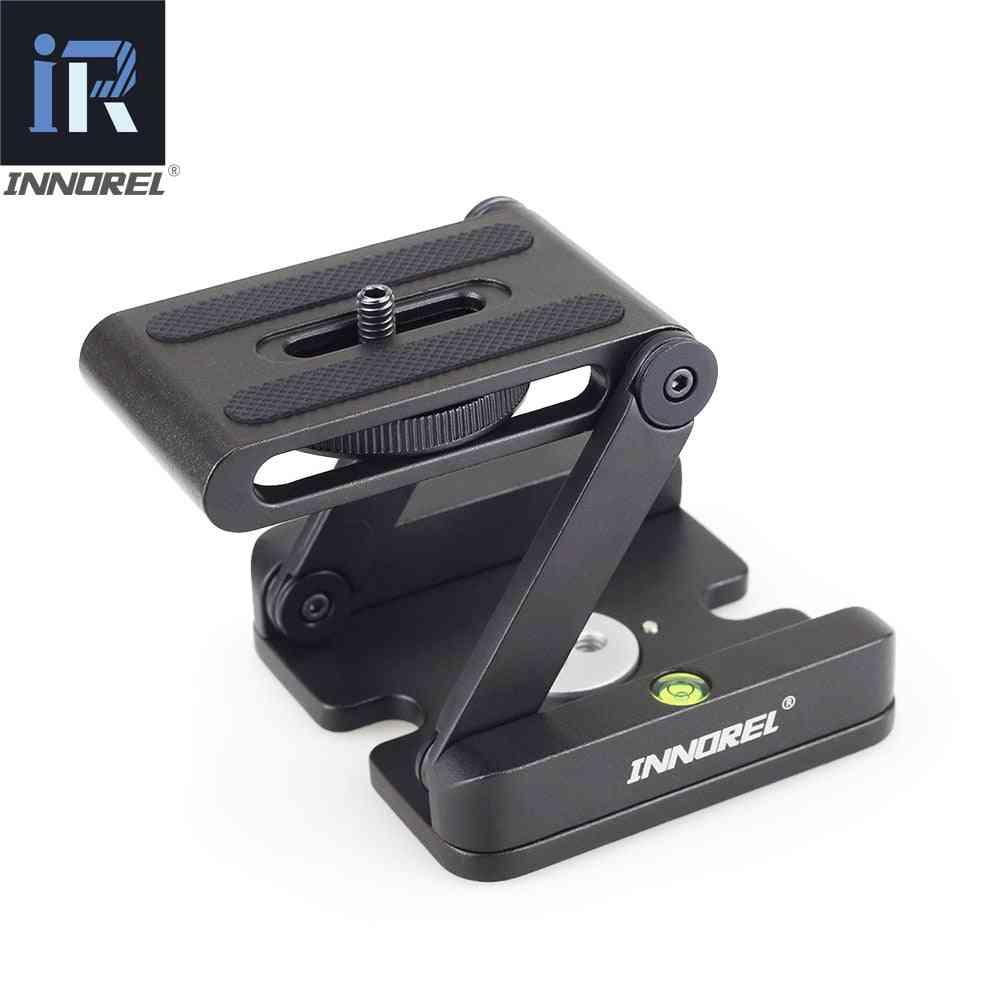 Pan Tripod Head Flex Folding Z Type Tilt Head For Canon Nikon Sony Dslr Camera Aluminum Alloy Tripod Heads Solution