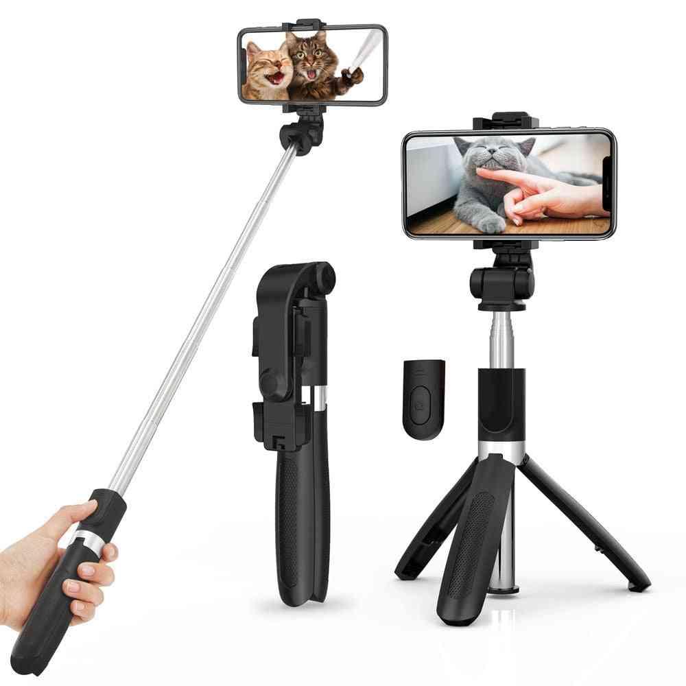 Wireless Bluetooth Selfie Stick Tripod For Smartphone