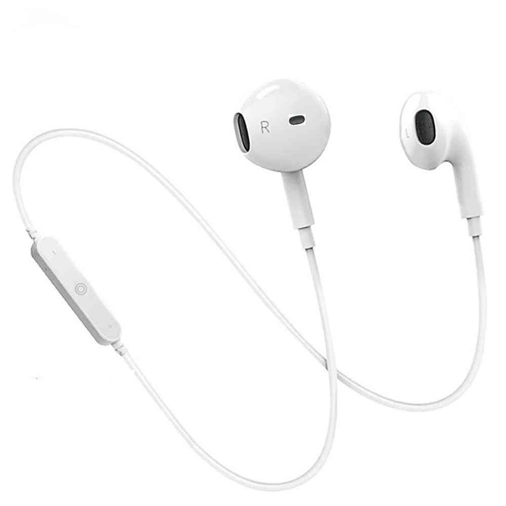 Wireless, Bluetooth In-ear Neckband Earphone With For Iphone/xiaomi/huawei