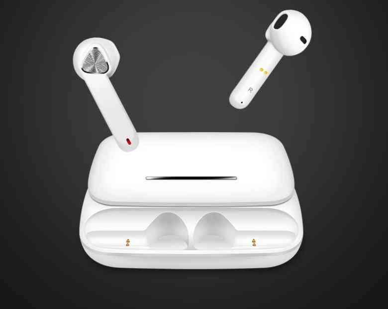 Blutooth 5.0, Wireless, Mini Type Headphones With Charging Box And Microphone