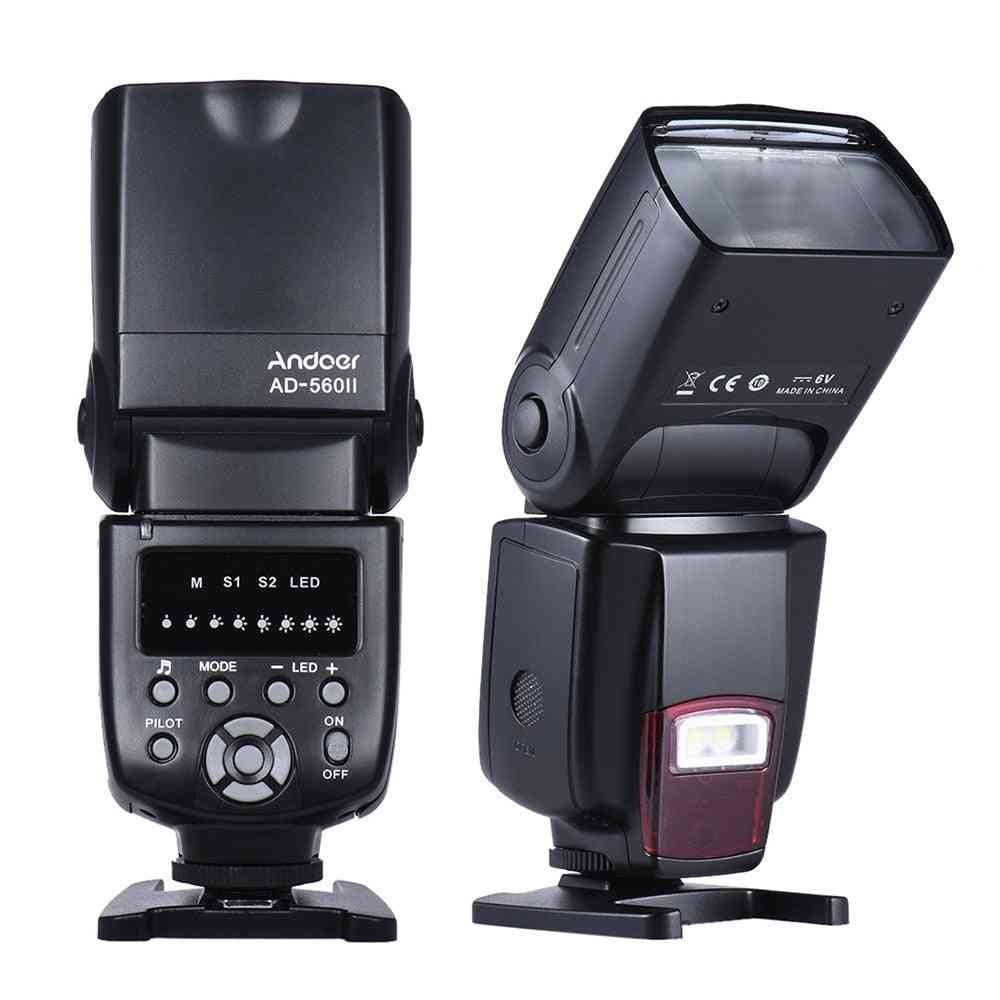 Universal Camera Flash Speedlite With Adjustable Fill Light For Canon/nikon/olympus Dslr