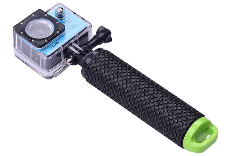 Floating Hand Grip, Pole Stick-monopod With Wrist Strap For Sports Action Camera