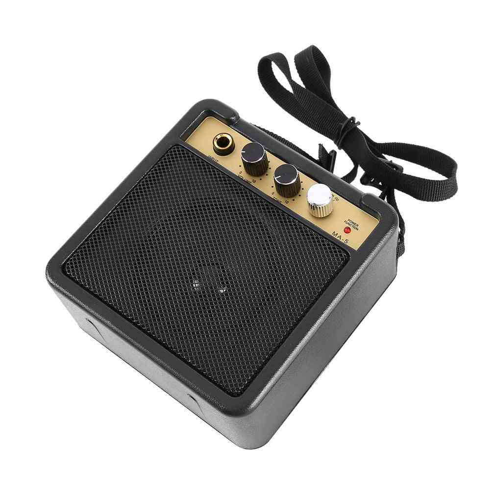 Mini Electric Guitar Amplifier/speaker With Back Clip