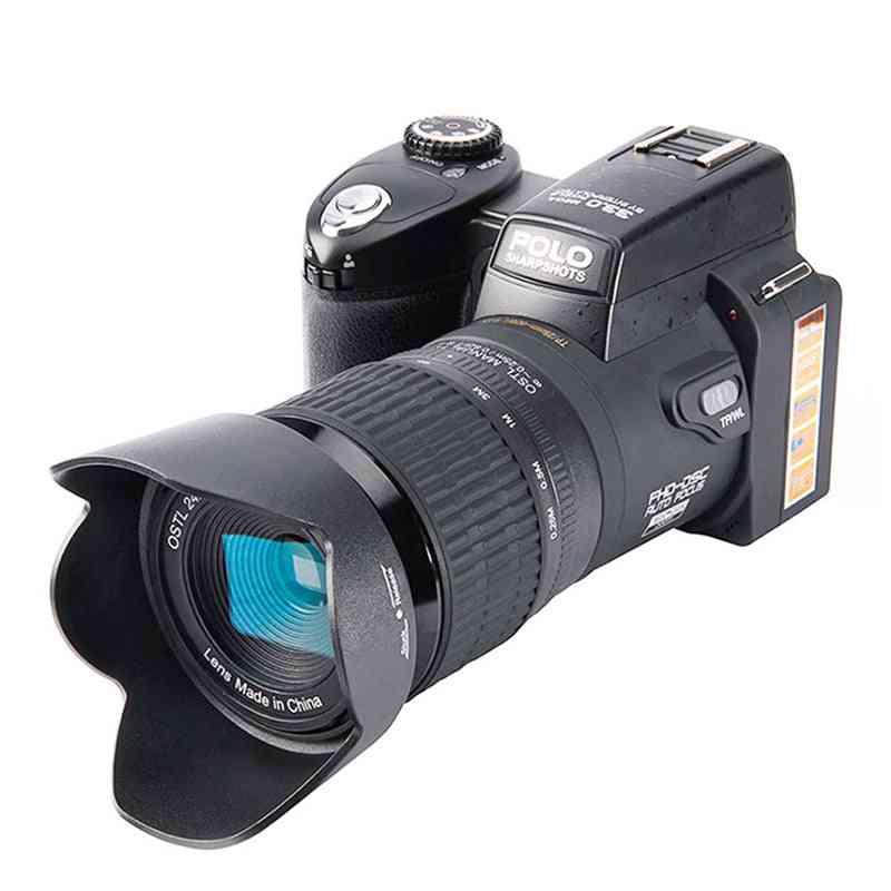 Full Hd-auto-focus, Professional Digital Slr Video-camera, 24x Optical-zoom