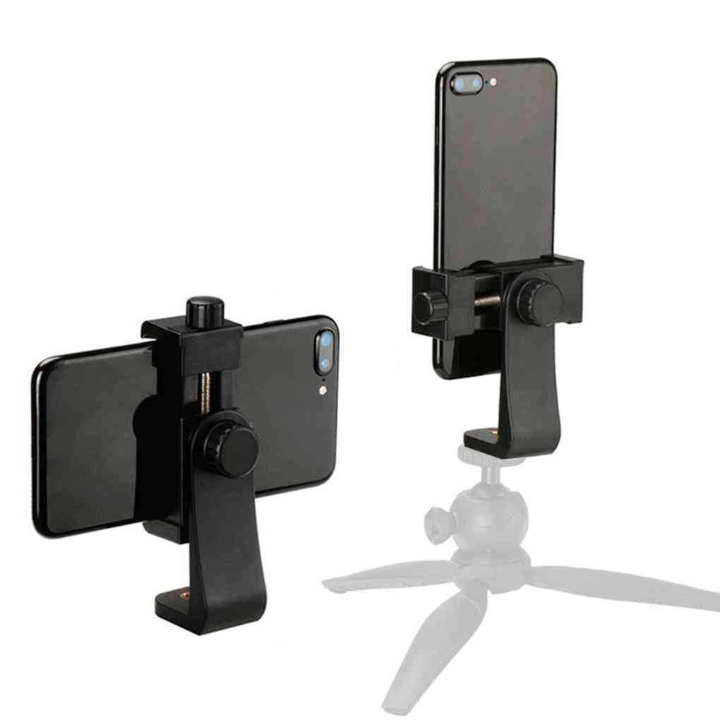 360 Degree Adjustable, Tripod Mount Adapter For Iphone/smartphone