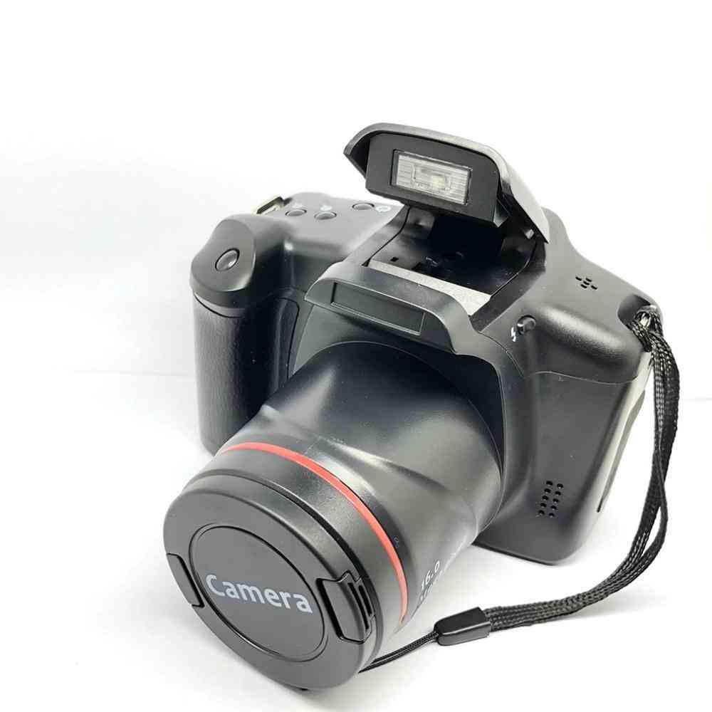 Xj05 Digital-camera Slr-4x Digital Zoom 2.8-inch-screen 3mp Cmos Max 12mp Resolution Hd 720p Tv Out Support Pc Video (black Xj05 Digital Camera)