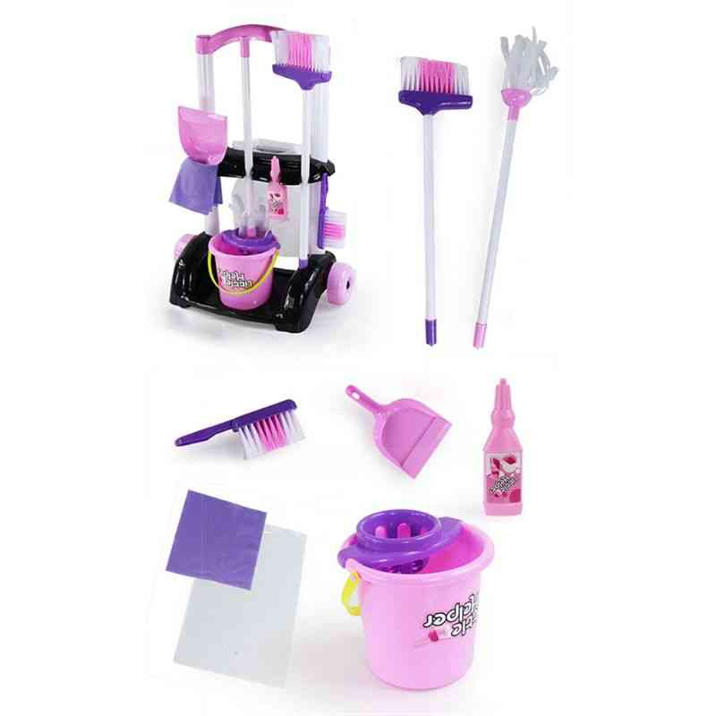 House Cleaning Trolley Set - Pretend Play Toy