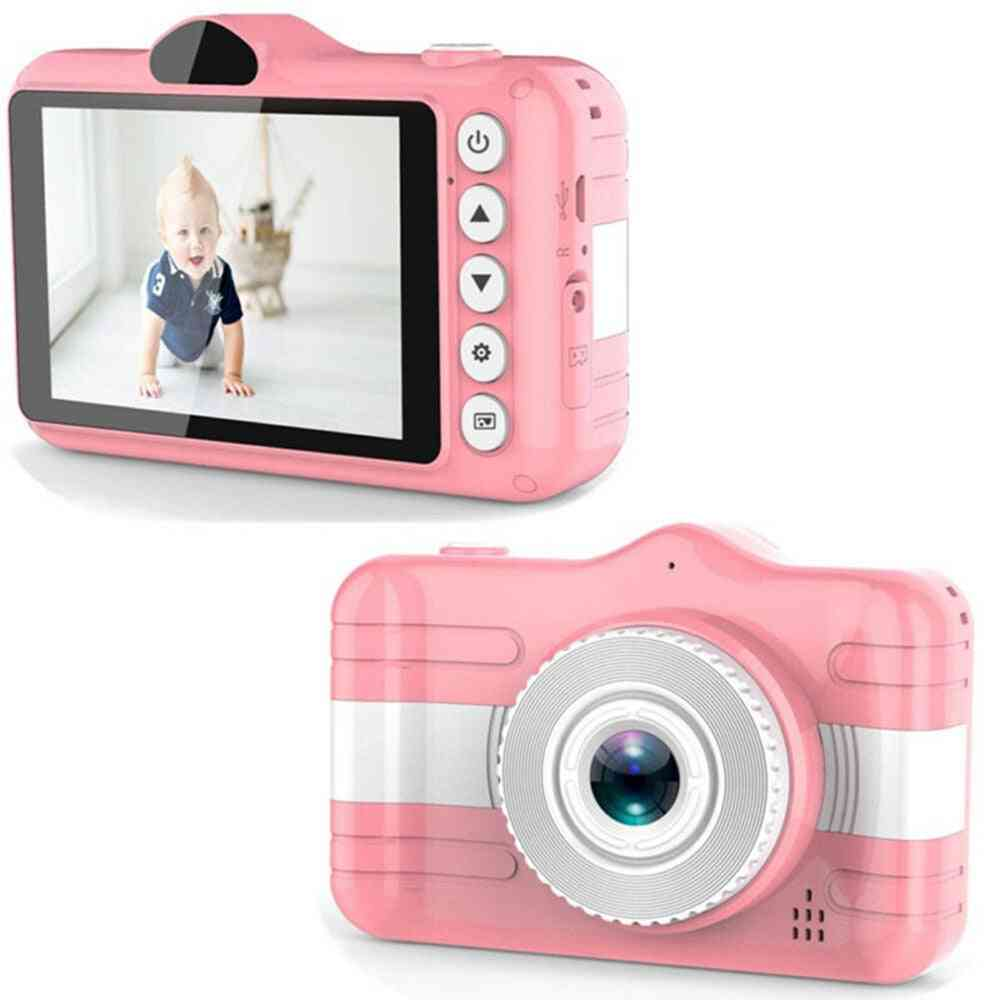 Kids Mini-camera Video Camcorder-toy, Cute-camcorder Rechargeable Digital-camera, Educational Toy