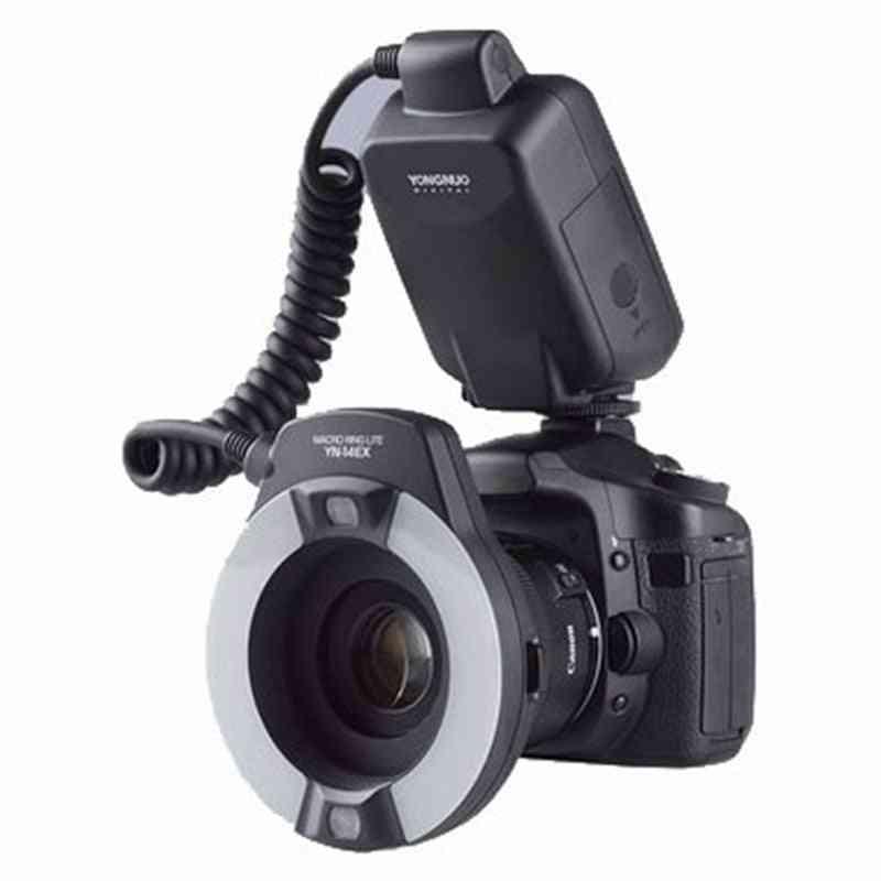 Yn-14ex Ttl Led Macro Speedlite Ring Flash Light For Canon 5d-mark-ii 5d-mark-iii/6d/7d/60d/70d/700d/650d