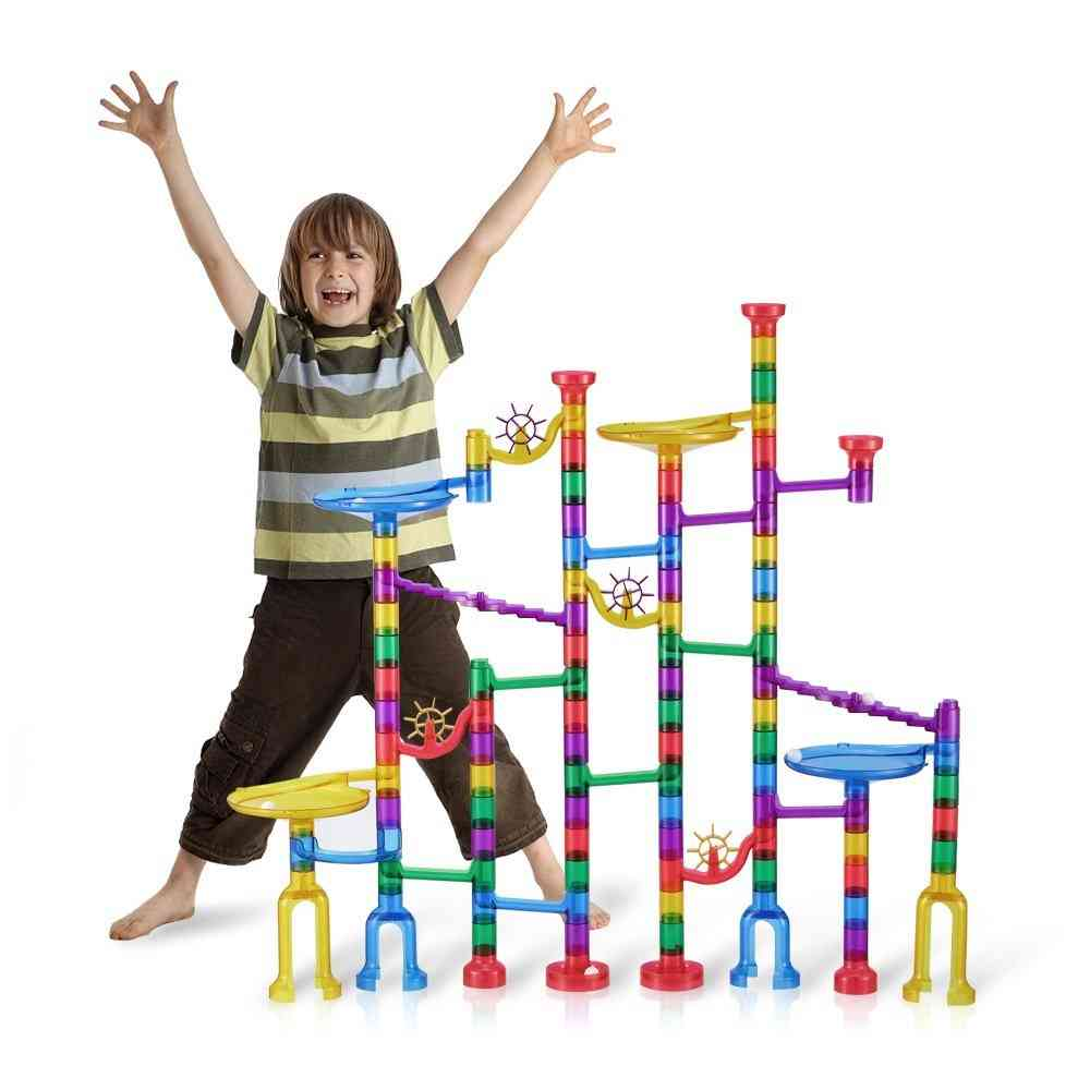 Marble Run Toy Game Stem Learning Educational Construction Building Blocks Toy