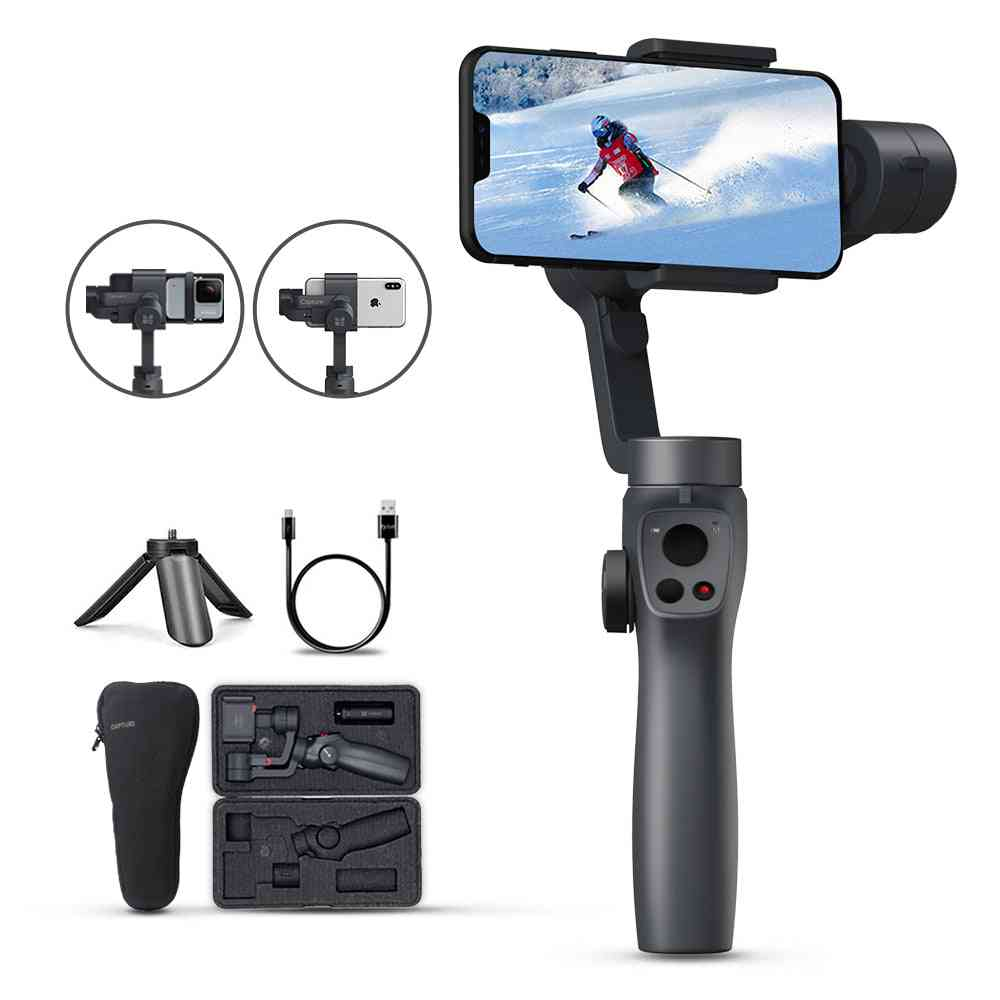 3 Axis, Handheld Gimbal-stabilizer For Smartphone/iphone/action Camera