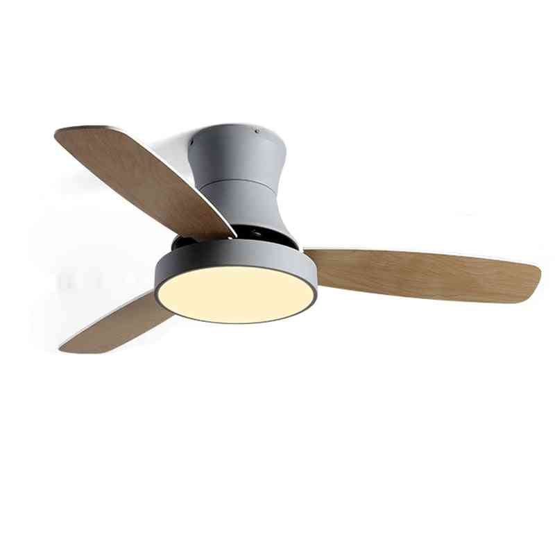 Wooden Celling Fan With Lamp For Dining Room, Living Room