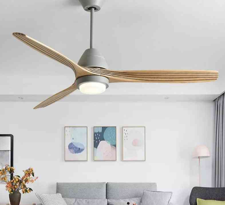 Reversal Fuction, Led Ceiling Fan With Lights For Living Room
