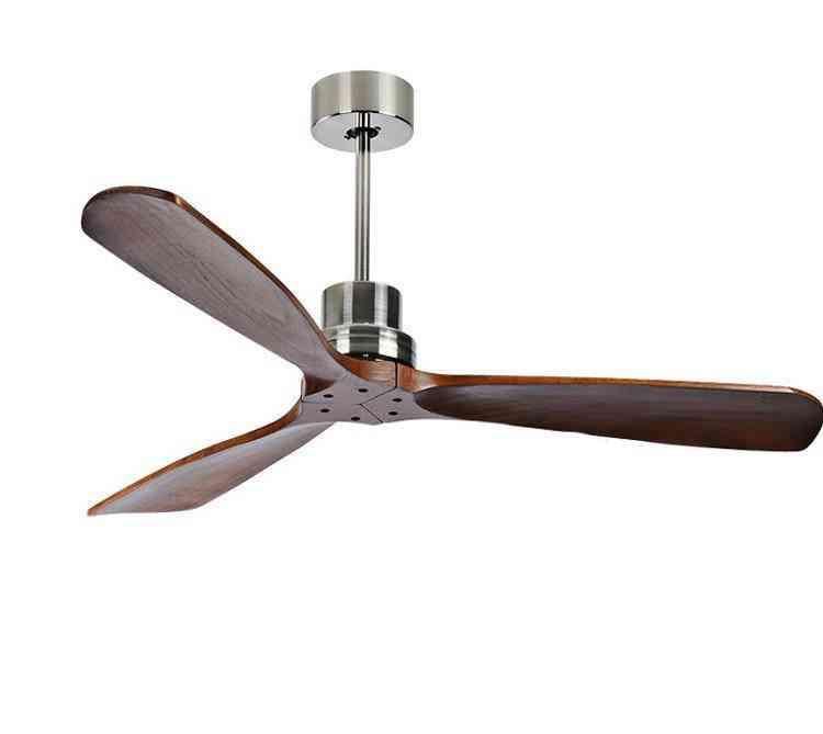 Industrial Vintage Ceiling Fan Without Light - Simple Design