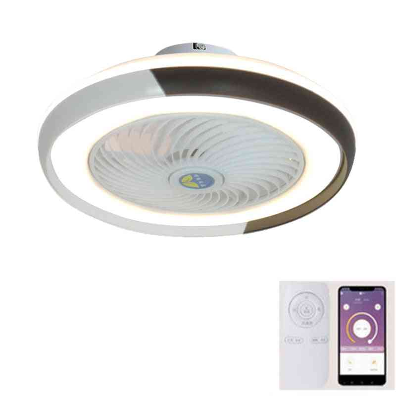 Smart Ceiling Fan With Led Lights And Remote Control