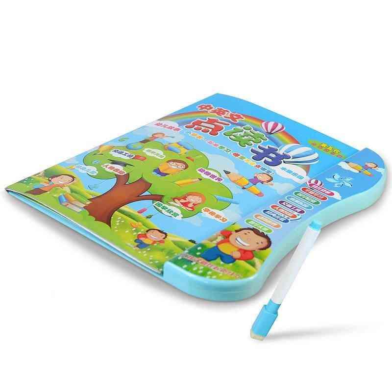 Multi-functional English/chinese Language-reading Book, Electronic Educational Sound Toy