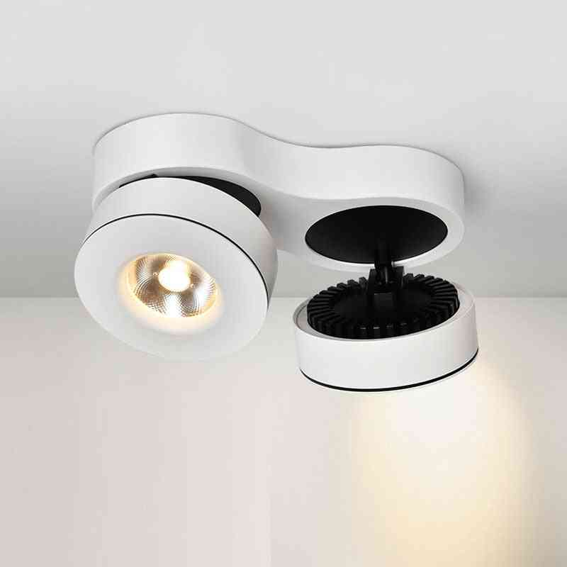 Wall Mounted, Adjustable Led Spotlight For Exhibition Hall