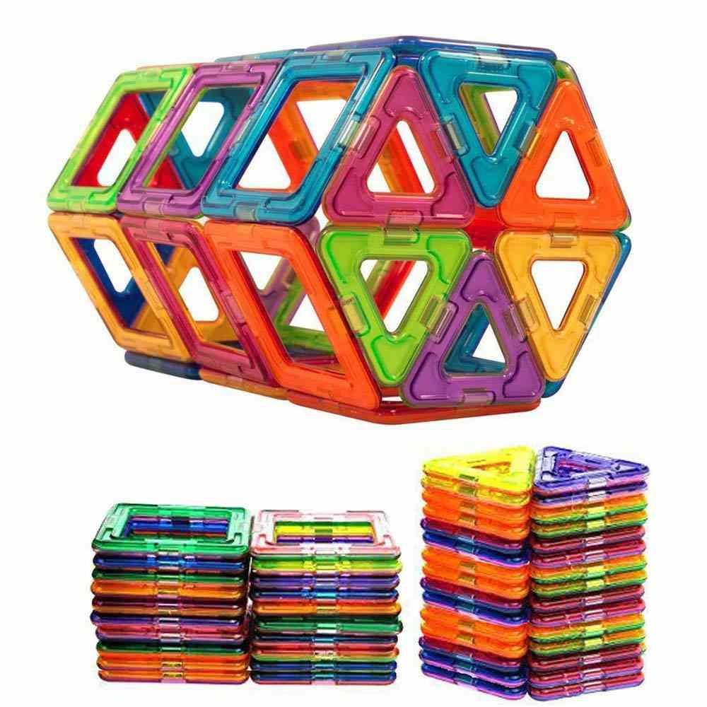 Magnetic Building Blocks- Construction Set - Educational Toy