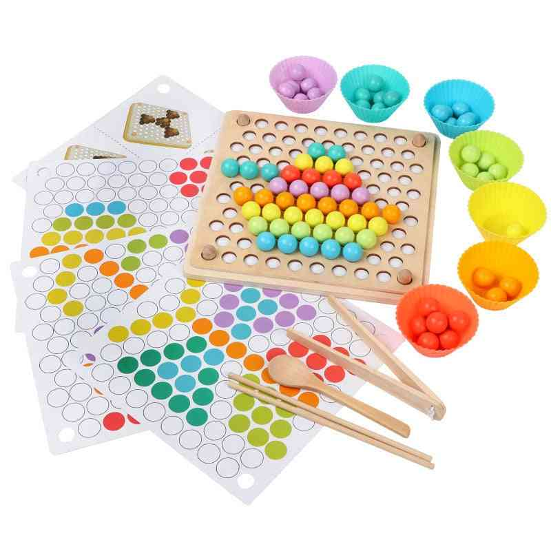 Hands, Brain Training, Puzzle Board - Early Educational Wooden