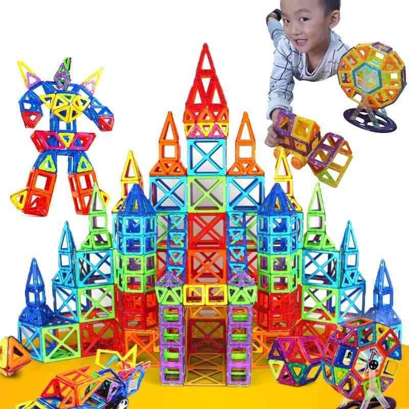 Mini Magnetic Designer Construction Set Model & Building Toy