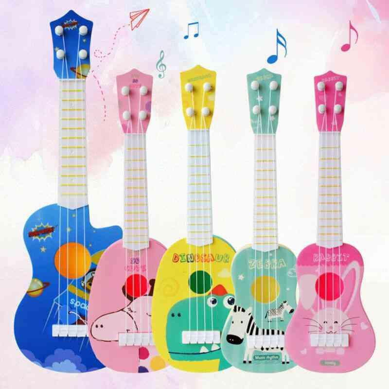 Mini Four Strings Ukulele Guitar Musical Instrument Kids Early Educational