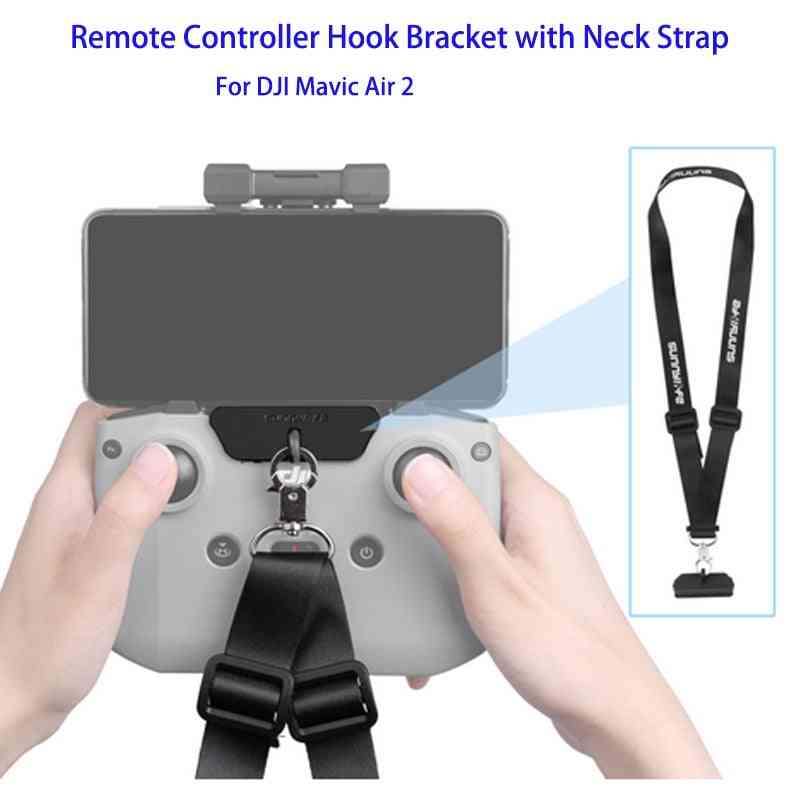 Remote Controller-hook-bracket With Strap-belt For Mavic-air 2-drone Accessories