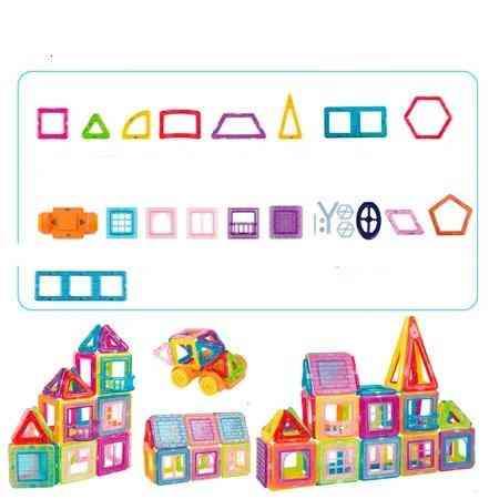 Mini Magnetic Building Blocks- Construct Designer Model For