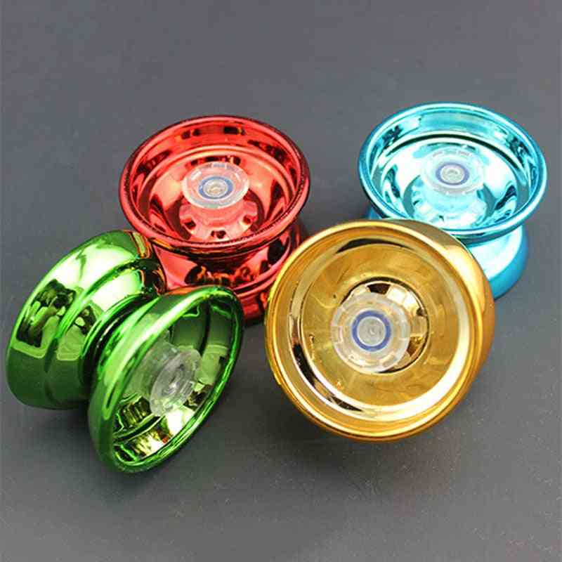 Professional Aluminum Alloy, High-speed Bearings, Butterfly Shape Yoyo Toy With String