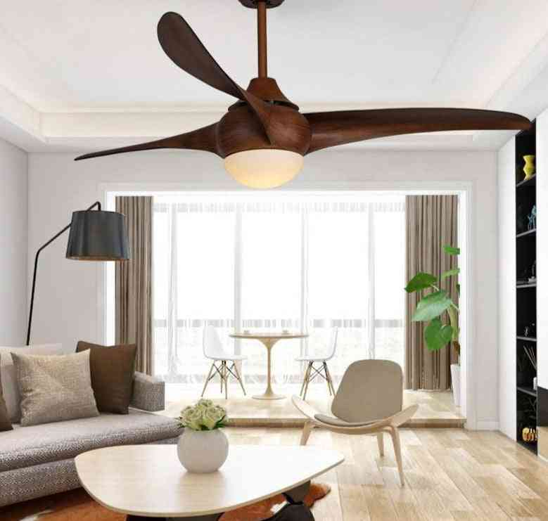 Vintage Style, Remote Control Ceiling Fan With Lights