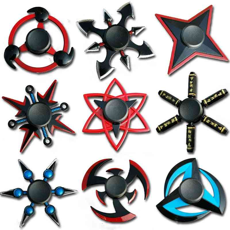 Zinc Alloy Metal Fidget Hand Spinner- Creative Ninja Darts, Gyro