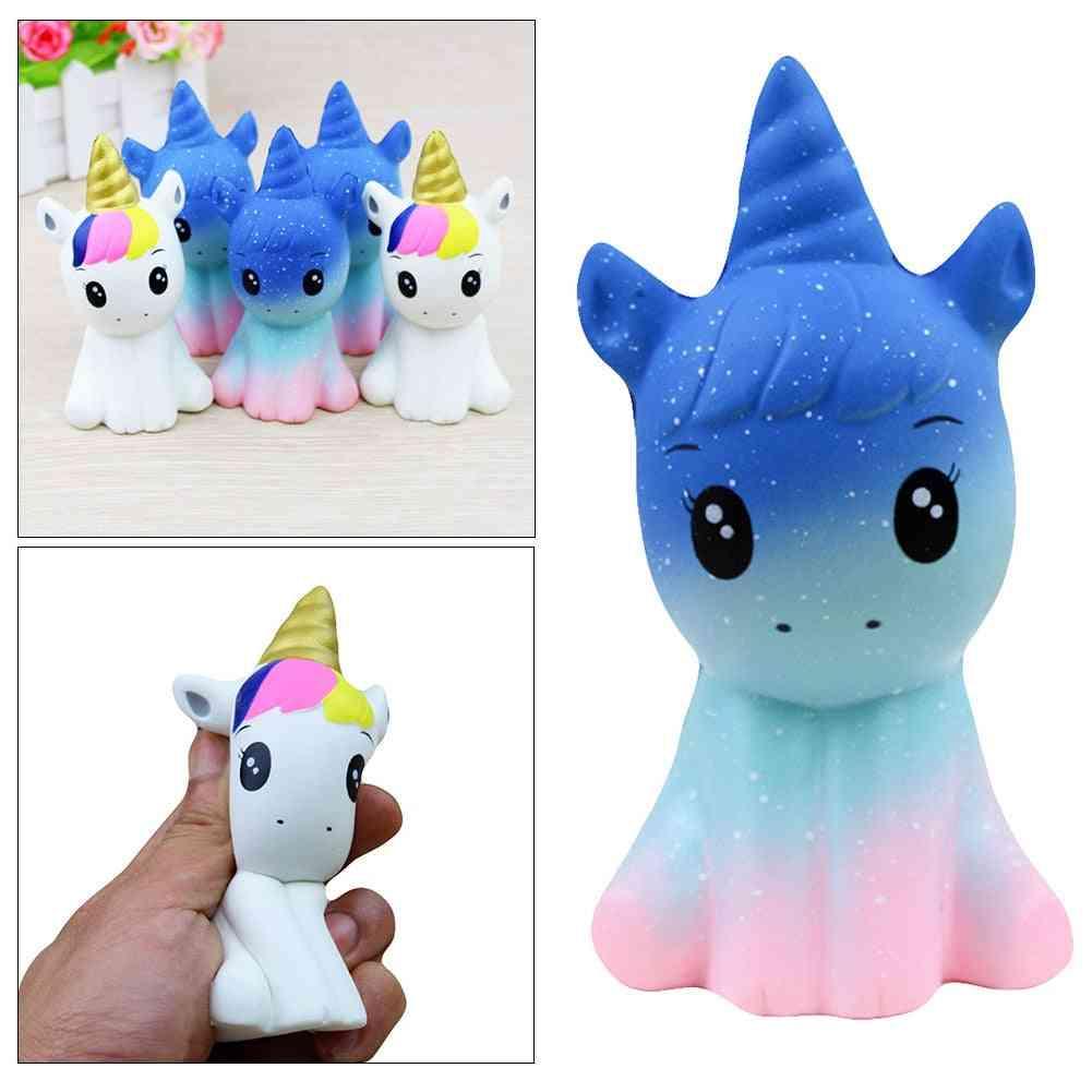 Squishy Antistress Entertainment Squishe Cartoon Unicorn Slow Rebound Decompression Toy- Animal Squeezing Stress Relief