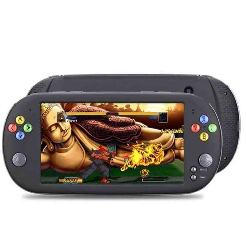 Handheld 7 Inch Retro Video Game Console For Ps1 For Neogeo 8/16/32 Bit Games 8gb With 1500 Free Games Support Tv Out